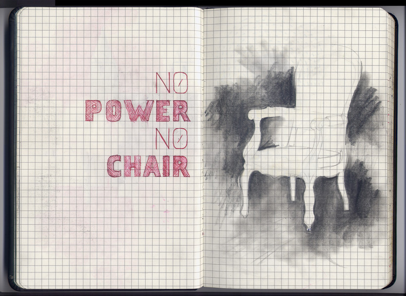 no power no chair