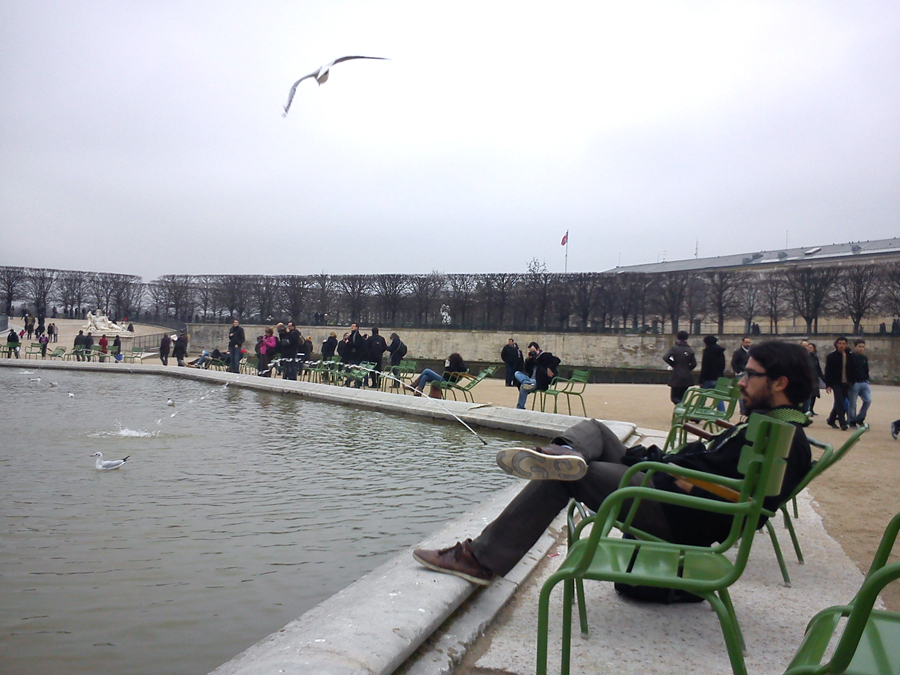 Paris, Jardin de Tuileries
